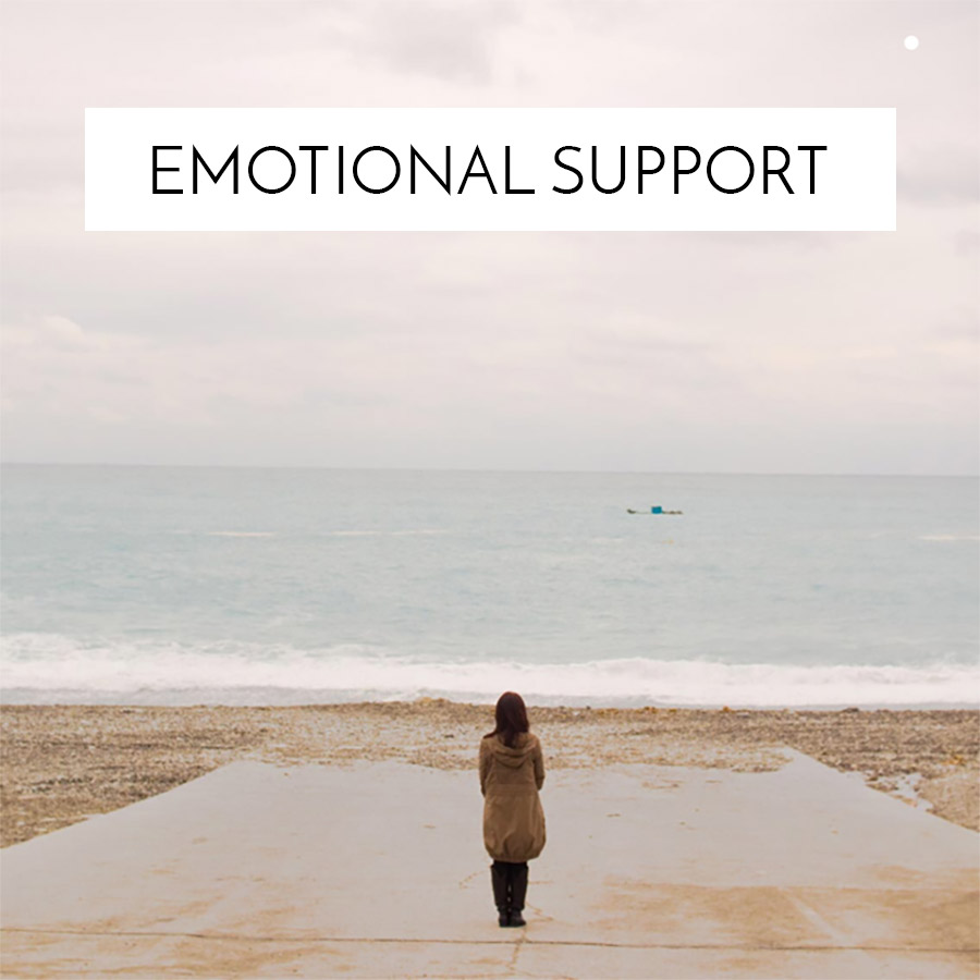 Emotional Support Background Graphic
