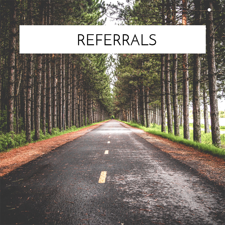 Referrals Background Graphic